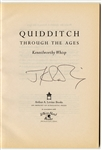 "J.K. Rowling Signed ""Quidditch Through The Ages"" Book"