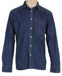 Ed Sheeran Owned & Worn Quicksilver Denim Shirt