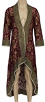 Ed Sheeran Owned & Worn Long Red Wine Jacket/Kaftan