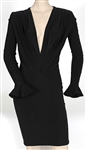 "Mariah Carey ""Watch What Happens Live"" TV Show Worn Custom Black Dress"