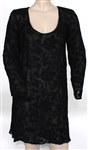 Heart Ann Wilson Stage Worn Black Dress