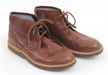 Ed Sheeran Owned & Worn Rockport Brown Leather Boots