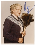 "Robin Williams Signed ""Mrs. Doubtfire"" Photograph"