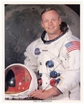 Astronaut Neil Armstrong Signed NASA Photograph
