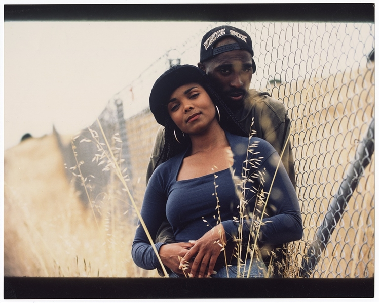 "Tupac Shakurs Personally Owned ""Poetic Justice"" Photograph with Janet Jackson"