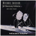 Michael Jackson Twice-Signed 30th Anniversary Celebration Complete Invitation