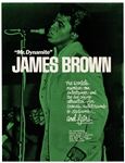 James Brown Original Concert Handbill