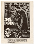 Big Brother and the Holding Company (Janis Joplin) Original Concert Handbill