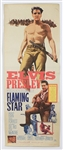 "Elvis Presley Original ""Flaming Star"" US Movie Insert Poster"