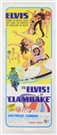 "Elvis Presley Original ""Clambake"" U.S. Movie Insert Poster"