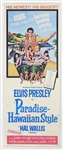 "Elvis Presley Original ""Paradise - Hawaiian Style"" U.S. Movie Insert Poster"