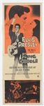 "Elvis Presley Original ""King Creole"" U.S. Movie Insert Poster"