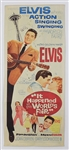 "Elvis Presley Original ""It Happened at the Worlds Fair"" U.S. Movie Insert Poster"