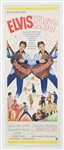 "Elvis Presley Original ""Double Trouble"" U.S. Movie Insert Poster"