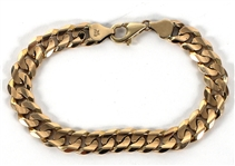Tupac Shakurs Owned and Worn 14kt Gold Bracelet