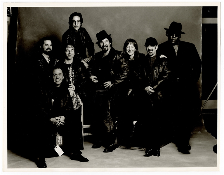 Bruce Springsteen and the E Street Band Original Annie Leibovitz 11 x 14 Photograph