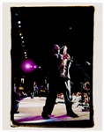 Bruce Springsteen and the E Street Band Original Danny Clinch Stamped 11 x 14 Concert Photograph Featuring Clarence Clemons