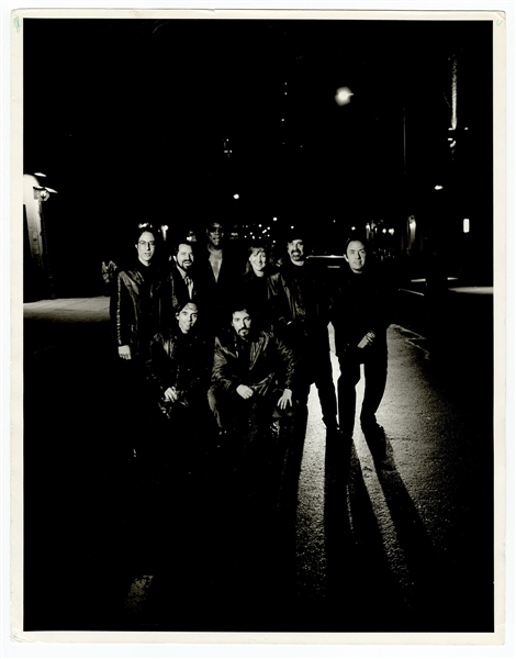 Bruce Springsteen and the E Street Bank Original Annie Leibovitz 11 x 14 Photograph