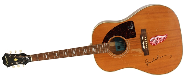 "Paul McCartney Signed And Played ""Ed Sullivan Show"" Epiphone 1964 Texan Limited Edition Guitar"