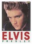 Elvis Presley Original RCA 50th Anniversary Japanese Fold-Out Record Catalog with Insert