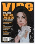 "Michael Jackson Signed ""Vibe Magazine"" Cover"