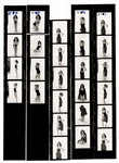Madonna Original Cecil Taylor Stamped Contact Sheets
