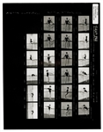 Madonna Original Cecil Taylor Stamped Contact Sheet