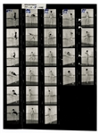 Madonna Original Earliest Known Nude Cecil Taylor Contact Sheet
