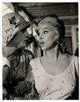 "Marilyn Monroe & Tony Curtis  ""Some Like It Hot"" Original 11 x 14 Movie Photograph"