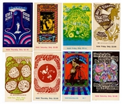 Vintage Fillmore West/Winterland Bill Graham Concert Ticket Archive Featuring Pink Floyd, Fleetwood Mac, The Byrds and More