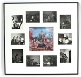 "Rolling Stones Display with The Official ""Their Satanic Majesties Request"" Lenticular and  One-Of-A-Kind Snapshots Photographs Taken During the Photoshoot for the Lenticular"