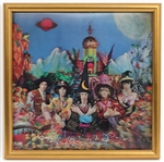 "Rolling Stones ""Their Satanic Majesties Request"" Original 14 x 14 Promotional Verivue Lenticular"