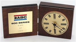 Mark Roths ABC 800 Series Game Bowling Clock Award