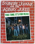 "Southside Johnny and the Asbury Jukes ""This Time Its For Real!"" Original Two-Sided In-Store  Promotional Poster"