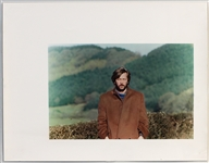 "Eric Clapton ""Behind The Sun"" Original Album Artwork Photograph By Patti Boyd From The Collection Of Larry Vigon"