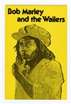 Bob Marley and The Wailers Original 1976 Australia and Hawaii Concert Tour Program
