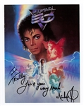 "Michael Jackson Signed & Inscribed ""Captain EO"" Disney Employee Magazine"
