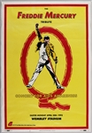 1992 Freddie Mercury Tribute Concert for AIDS Awareness Original Poster