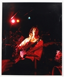 Tommy Bolin Over-Sized Original Concert Photograph Stamped by the Photographer