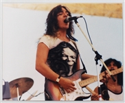 Tommy Bolin Over-Sized Original Concert Photograph