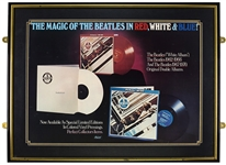 The Beatles 1978 Red, White & Blue Original Capitol Promotional Poster