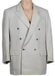 Michael Jackson Owned & Worn Pale Grey Suit Jacket