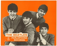 The Beatles Original Parlophone Record Store Display Poster