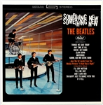 "Beatles ""Something New"" Original Album Slick"