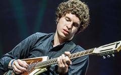 "The Kooks Luke Prichard ""Is It Me"" Music Video, Stage and Studio Used Domino California Rebel Guitar and Custom Flight Case"