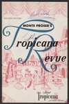 Elvis Presley Signed Original Hotel Tropicana Revue Program