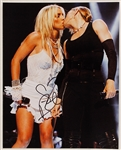 Britney Spears Signed Photograph with Madonna