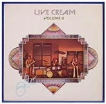 "Eric Clapton Signed ""Live Cream Volume II"" Album"