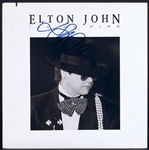 "Elton John Signed ""Ice on Fire"" Album"
