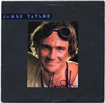 "James Taylor Signed ""Dad Loves His Work"" Album"